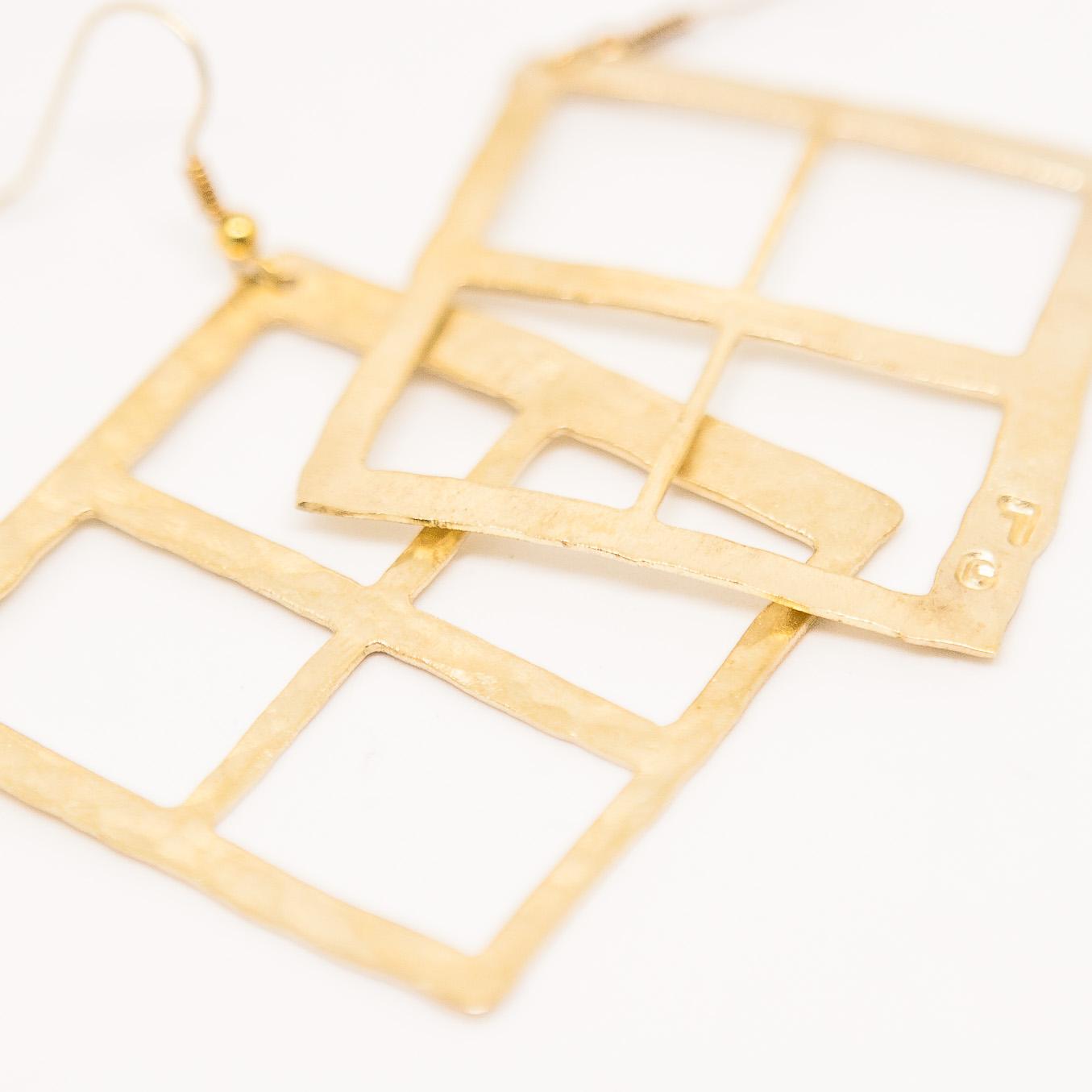 Hammered Handmade Earings