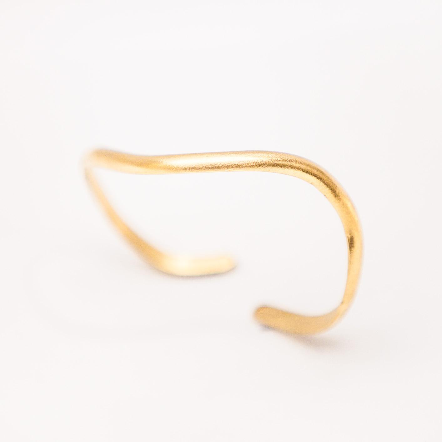 Minimal ElegantGreek Handmade Wrist Bangle, cuff bracelet